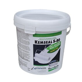 Kemseal S-80 2L Liquid Silicone Membrane in Grey or White